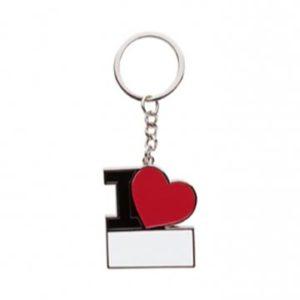 "Porte clé ""I love"""
