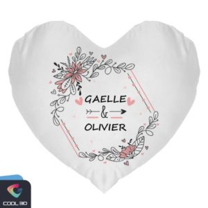 Coussin Forme Coeur